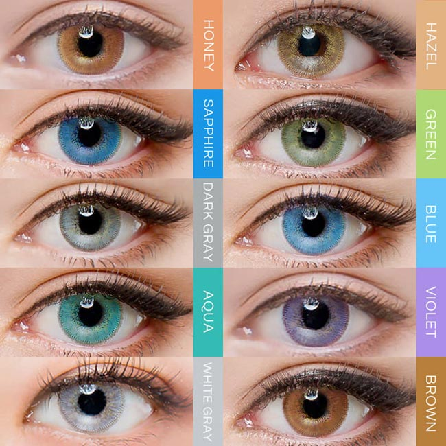 Innovision Luxury Fiore Contacts | Brown
