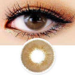 Innovision Luxury Fiore Brown Contacts | UV Blocking