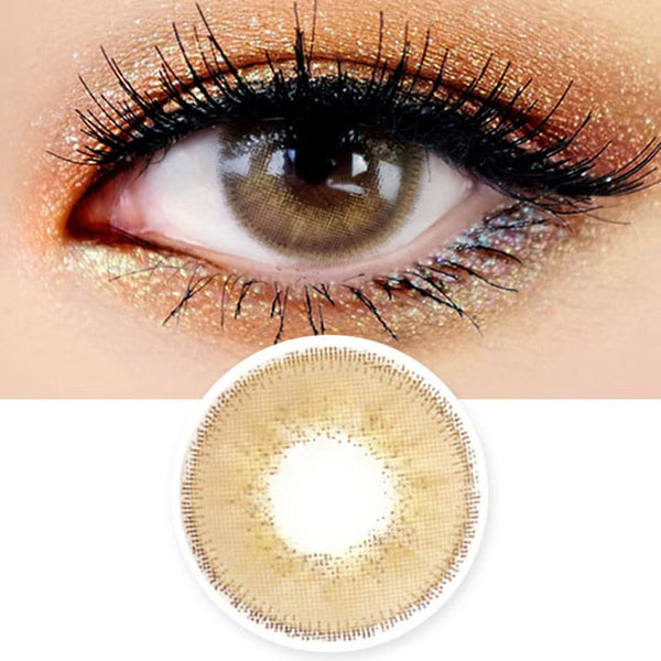 Innovision Luxury Fiore Hazel Brown Contacts