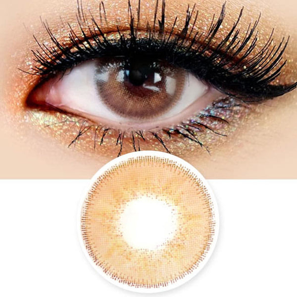 Innovision Luxury Fiore Honey Brown Contacts