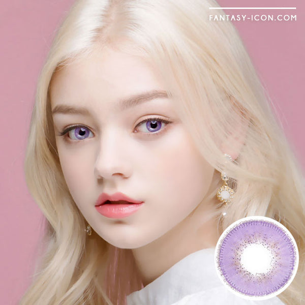 Innovision Luxury Fiore Violet Contacts | UV Blocking