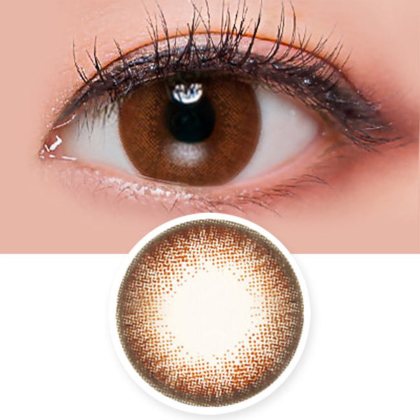 Luz Dali Brown Contacts for Hperopyia - farsightedness