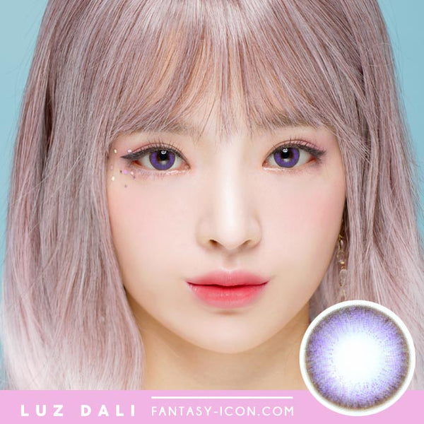Toric Lens Luz Dali Violet | Colored Contacts For Astigmatism Model