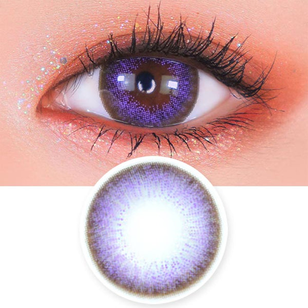 Toric Lens Luz Dali Violet | Colored Contacts For Astigmatism