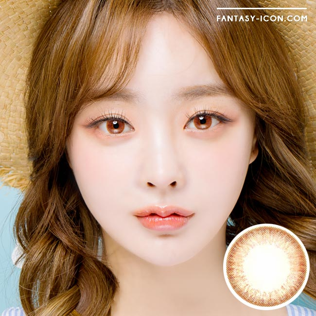 Colored Contacts Mary Aida Brown - Circle Lenses 1
