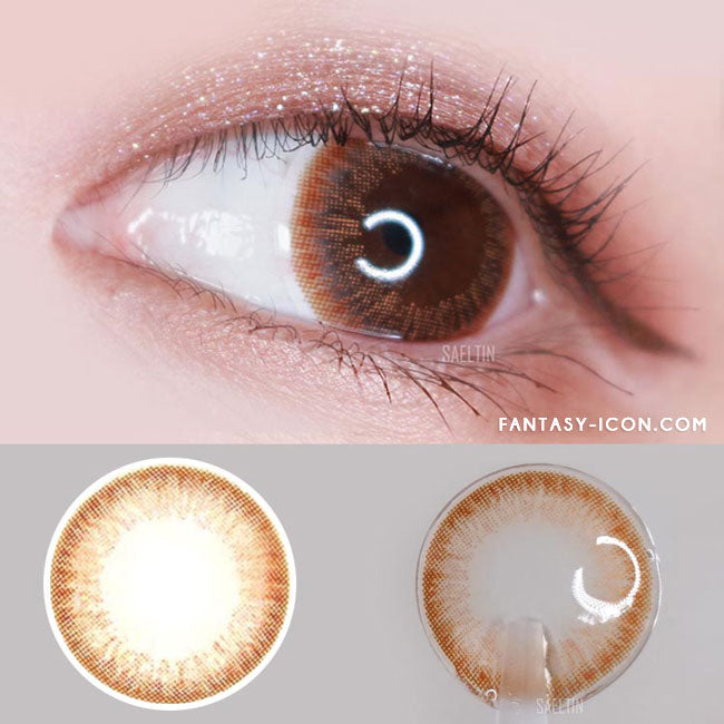 Colored Contacts Mary Aida Brown - Circle Lenses 2
