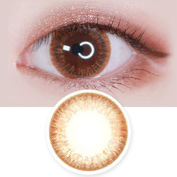 Colored Contacts Mary Aida Brown - Circle Lenses