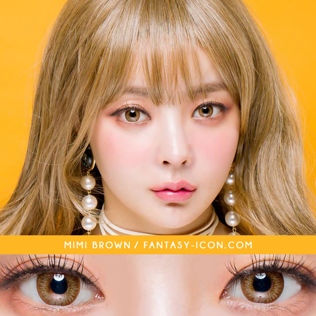 Colored contacts for Hyperopia Mimi Needstem Brown 3