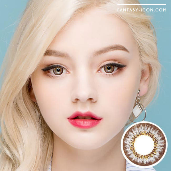 Colored Contacts Mimi Needstem Grey - Circle Lenses 1