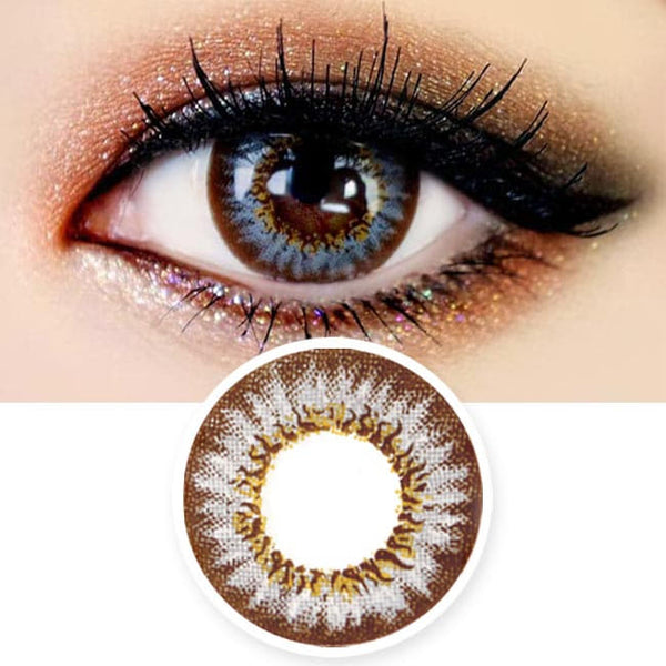 Colored Contacts Mimi Needstem Grey - Circle Lenses