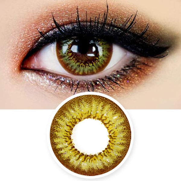 Colored Contacts Mimi Needstem Green - Circle Lenses
