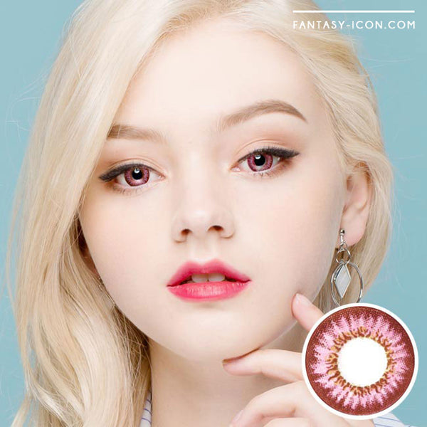 Colored Contacts Mimi Needstem Pink - Circle Lenses 1