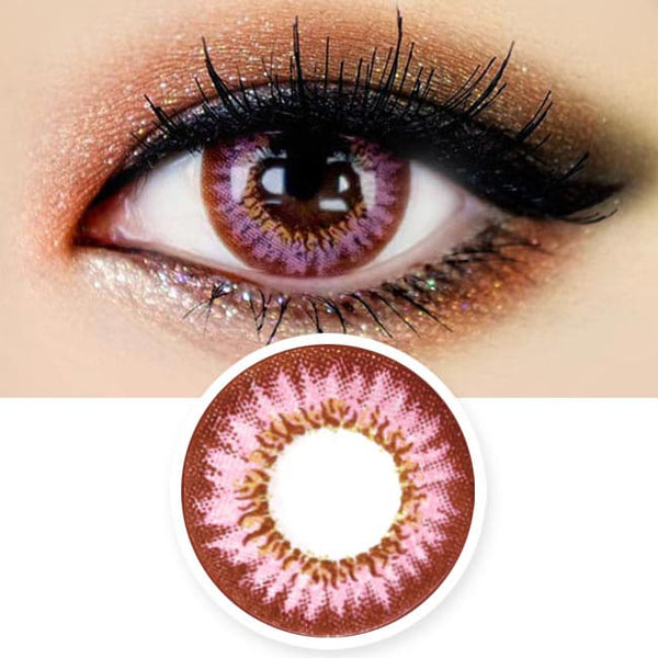 Colored Contacts Mimi Needstem Pink - Circle Lenses