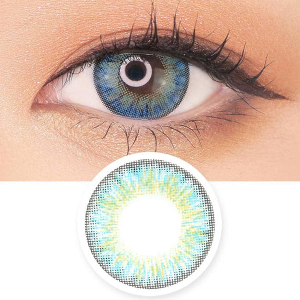 Blue Toric Lens Moist Barbie 3 tone
