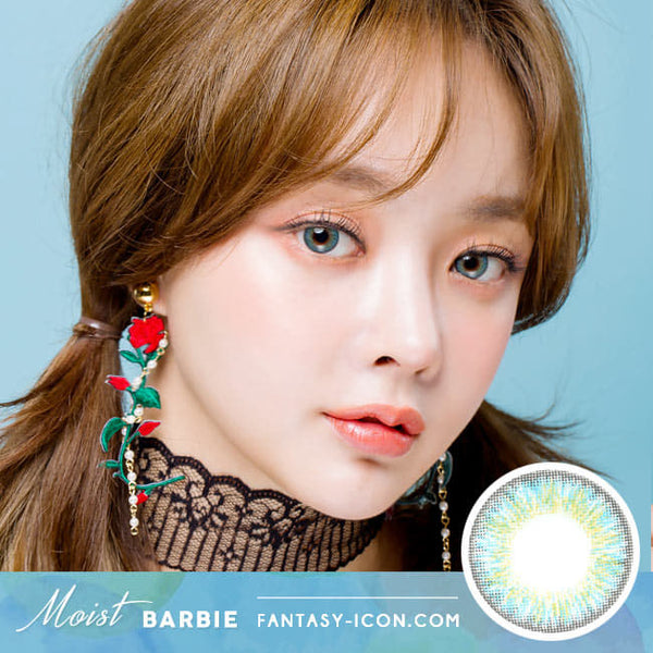 Moist Barbie 3 tone Blue Toric Lens