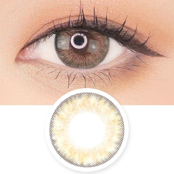 Toric Lens Brown Contacts For Astigmatism Moist Barbie