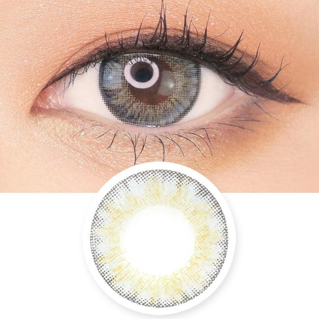 Grey Toric Lens Moist Barbie 3 tone - Gray Colored Contacts For Astigmatism
