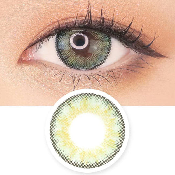 Toric Lens Green Colored Contacts For Astigmatism Moist Barbie 3 tone
