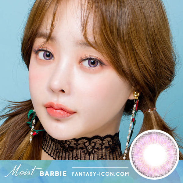 Moist Barbie 3 tone Colored Contacts For Astigmatism Violet Toric Lens