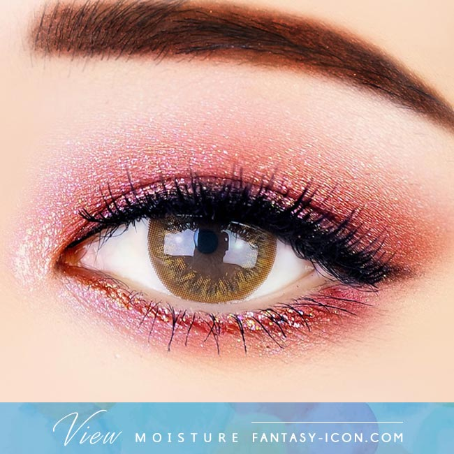 Brown Contacts - Moisture View - Eyes