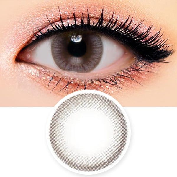 Colored Contacts Luna Monet Grey - Circle Lenses