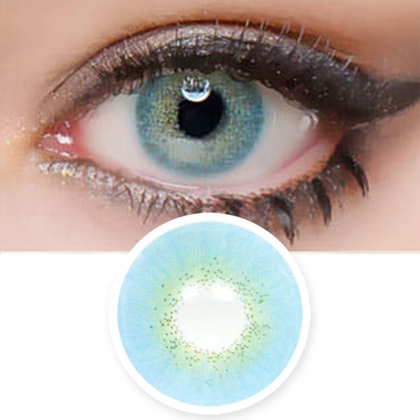 Muse Blue Colored Contacts - Circle Lenses