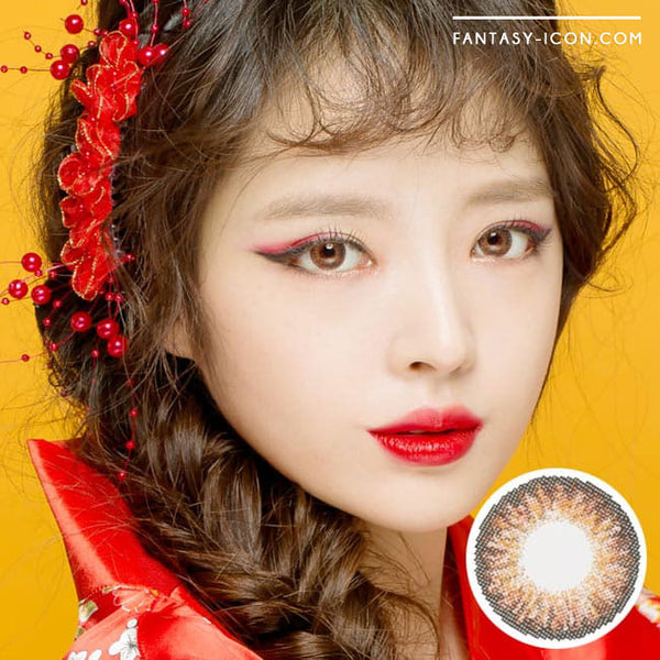 Colored Contacts Ocho Brown - Circle Lenses 1