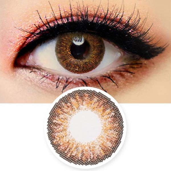 Colored Contacts Ocho Brown - Circle Lenses