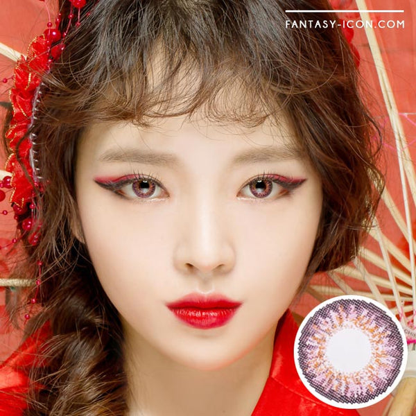 Colored Contacts Ocho Pink - Circle Lenses 1