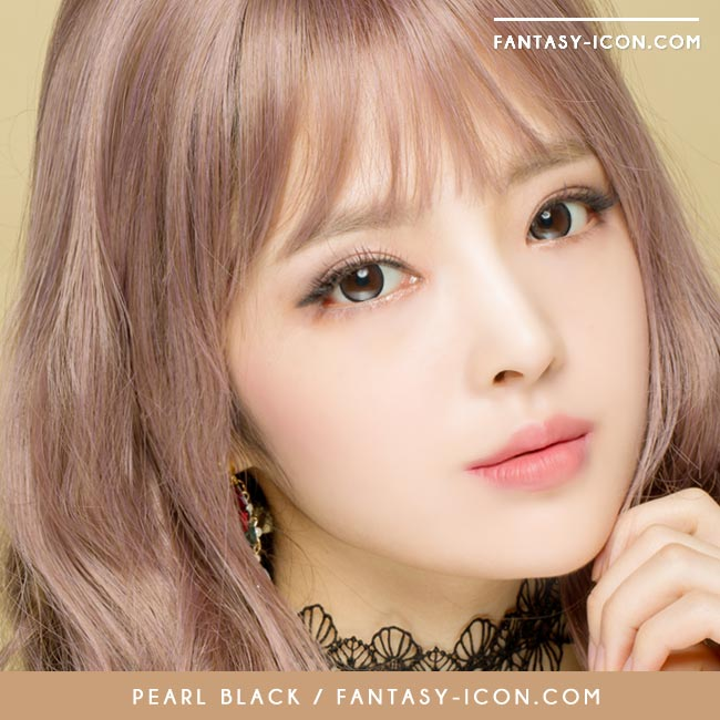 Colored contacts for Hyperopia Pearl Black 3