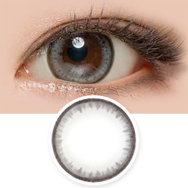 Pearl Grey Contacts for Hperopyia - farsightedness
