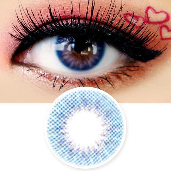 Colored Contacts Placide Blue - Circle Lenses