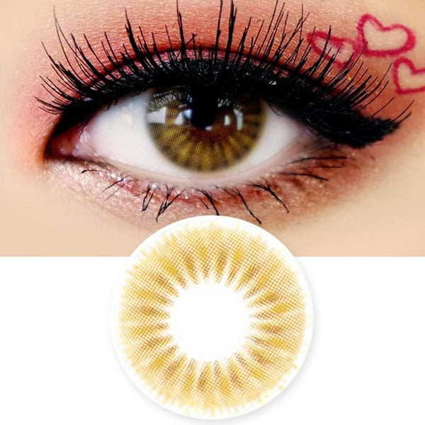 Colored Contacts Placide Brown - Circle Lenses