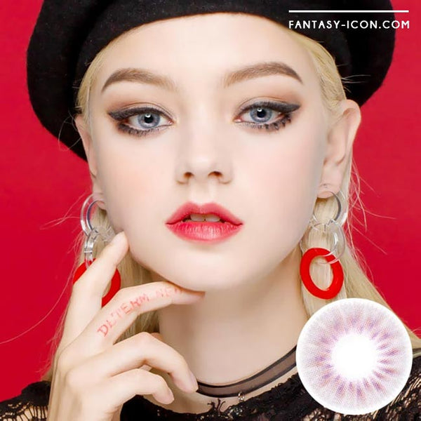 Colored Contacts Placide Grey - Circle Lenses 1