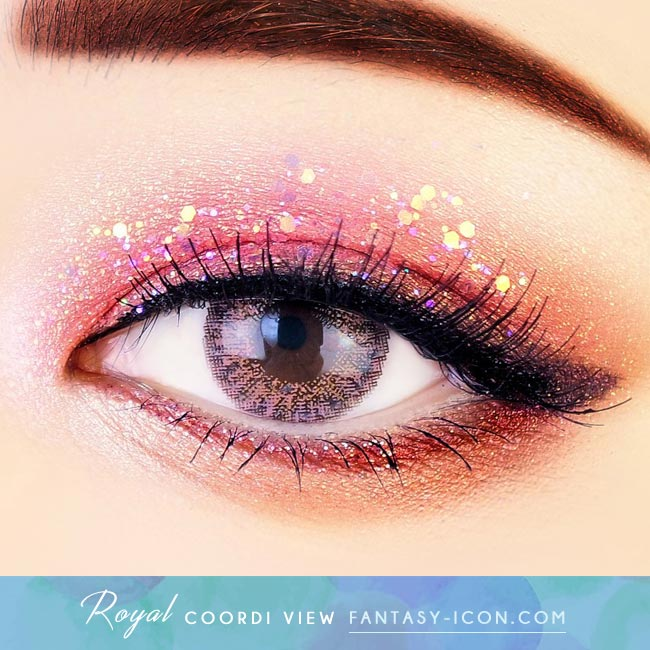 Pink Contacts - Royal Coordiview - Eyes
