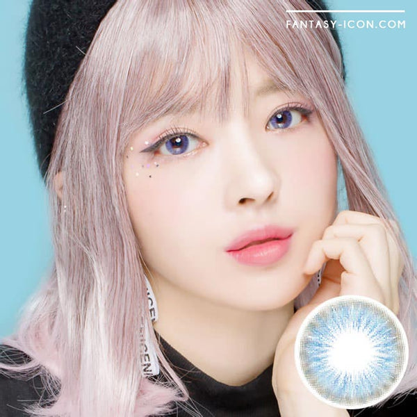 Toric Colored Contacts for Astigmatism - Sapphire Blue flow 1