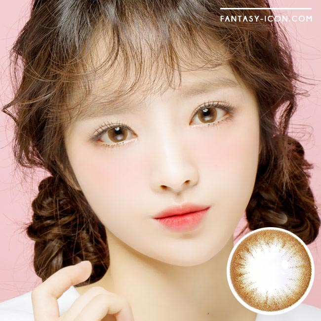 Colored Contacts Magic Chocolate Brown - Circle Lenses 1