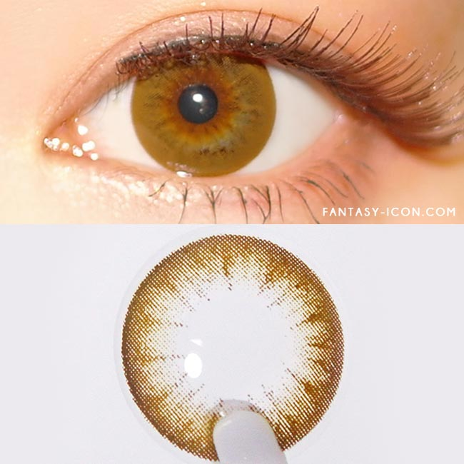 Colored Contacts Magic Chocolate Brown - Circle Lenses 2