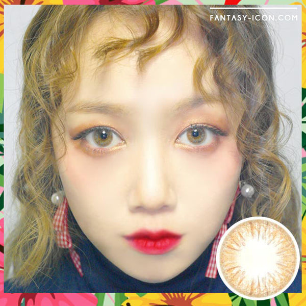 Colored Contacts Seo Brown - Circle Lenses 1