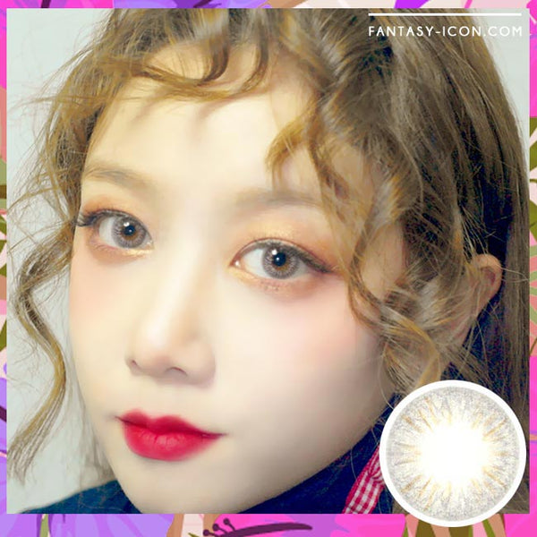 Colored Contacts Seo Grey - Circle Lenses 1