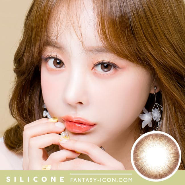 Soft Artric Silicone hydrogel Lens - 2 Day Brown Colored Contacts model