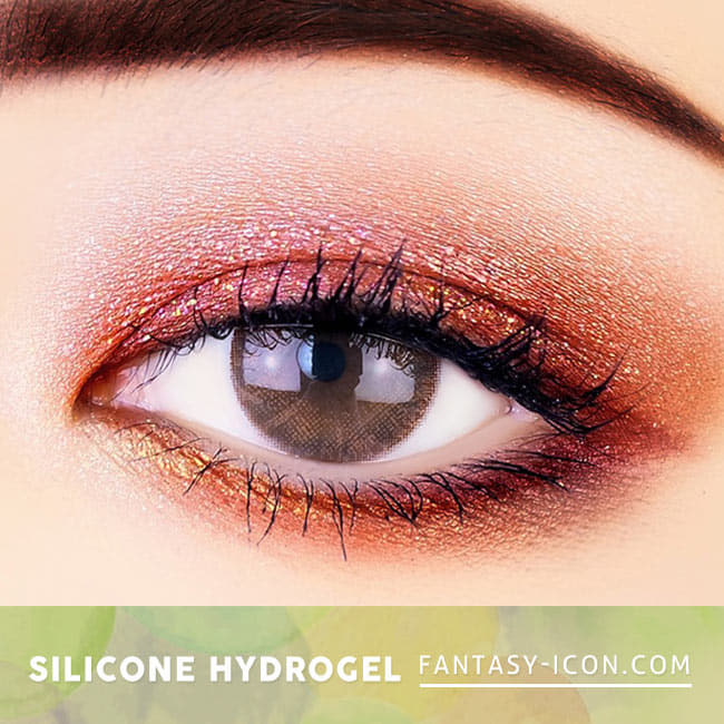 Soft Artric Silicone hydrogel Lens - 2 Day Brown Colored Contacts eyes 2