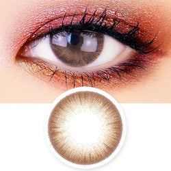Soft Artric Silicone hydrogel Lens - 2 Day Brown Colored Contacts
