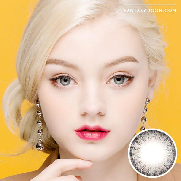 Toric Colored Contacts for Astigmatism - Lucia Spark Grey 1