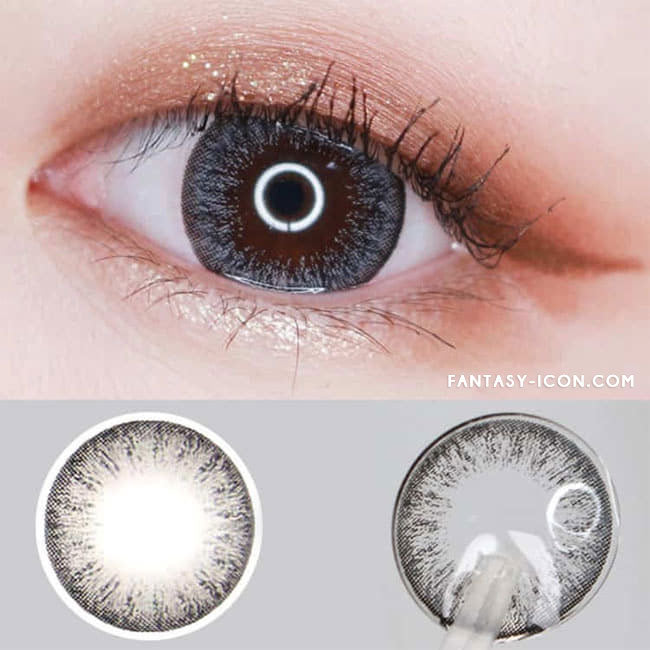 Toric Colored Contacts for Astigmatism - Lucia Spark Grey 2