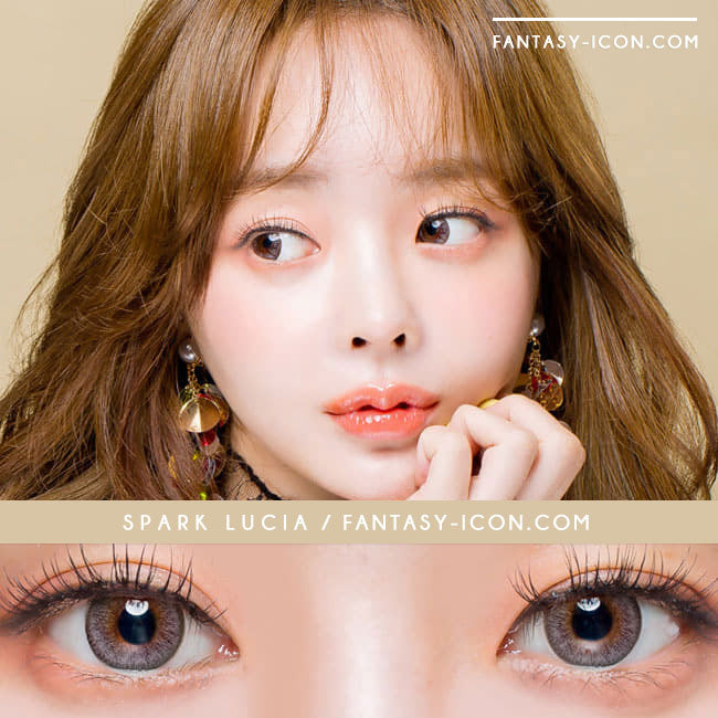 Toric Colored Contacts for Astigmatism - Lucia Spark Grey 3