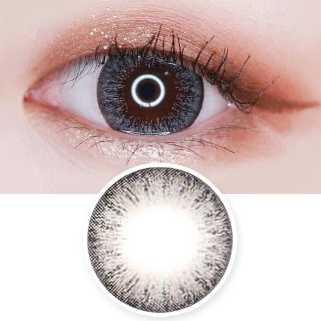 Toric Colored Contacts for Astigmatism - Lucia Spark Grey