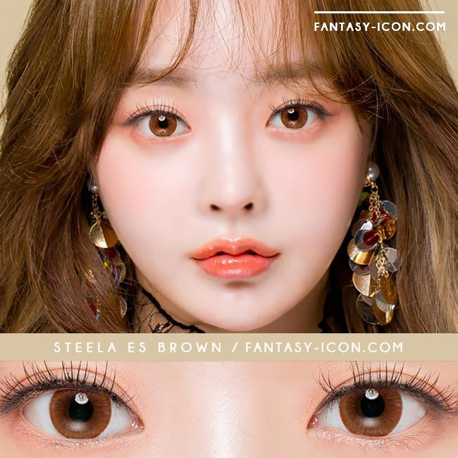 Colored Contacts Stella Brown - Circle Lenses 3