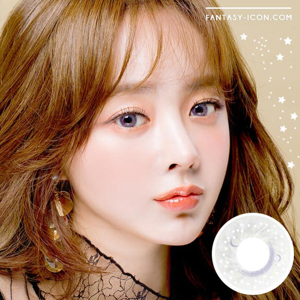 Colored Contacts Milky Stella Grey - Circle Lenses 1