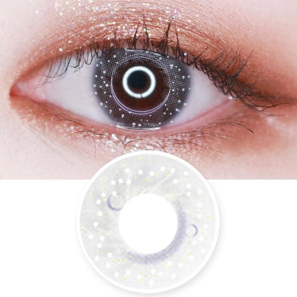 Colored Contacts Milky Stella Grey - Circle Lenses